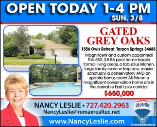 Gated Gray Oaks