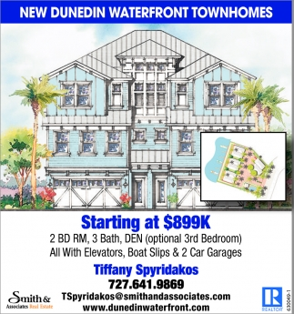 New Dunedin Waterfront Townhomes