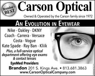 An Evolution In Eyewear
