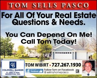 Tom Sells Pasco