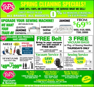 Spring Cleaning Specials!