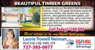 Beautiful Timber Greens