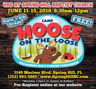 VBS At Spring Hill Baptist Church