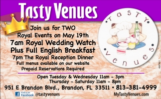Join Us For Two Royal Events