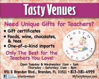 Need Unique Gifts For Teachers?