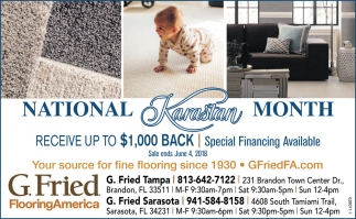 Receive Up To $1,000 Back
