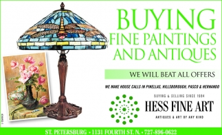 Buying Fine Paintings And Antiques